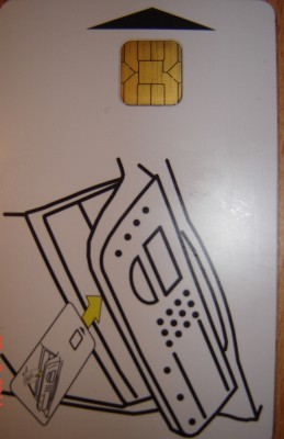 Xerox Phaser 3100 Smart card